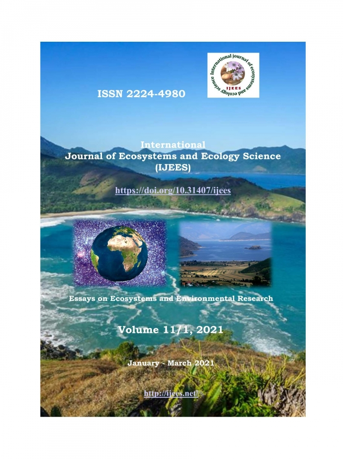 International Journal of Ecosystems and Ecology Science ...